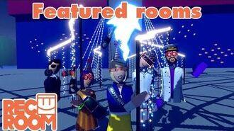 Rec Room - Featured Rooms (Community Builds) - Week of Dec 31st