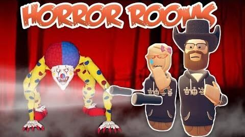 Hairy's Room Tours Horror Rooms