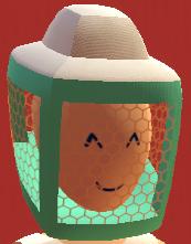 Teal beekeper