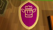 Quest Shield Purple