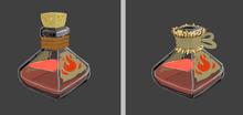 Fire potion Concept