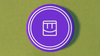 Frisbee Team Purple