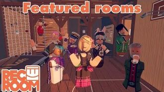 Rec Room - Featured Rooms (Community Builds) - Week of May 26th