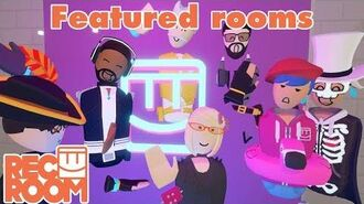Rec Room - Featured Rooms (Community Builds) - Week of Nov 11th