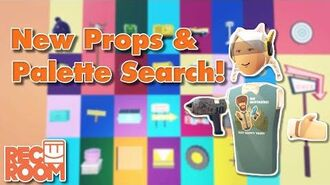 New Props & Palette Search!