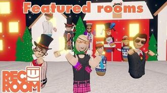 Rec Room - Featured Rooms (Community Builds) - Week of Dec 10th