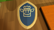 Quest Shield Blue