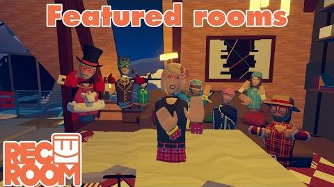 Rec Room - Featured Rooms (Community Builds) - Week of June 30th