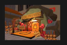 Mine entrance concept