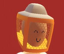 Gold beekeper