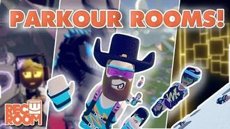 Hairy's Room Tours- Parkour Rooms