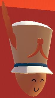 Orange drum hat