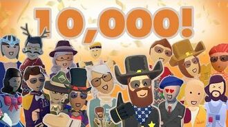 10,000 SUBS! Thank you!