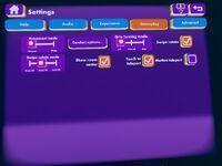 Settings gameplay teleport
