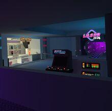 Lasertag lobby