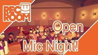 Rec Room Open Mic Night