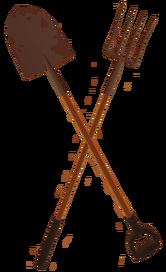 Forkshovel