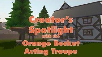 Creator's Spotlight the Orange Bucket Acting Troupe