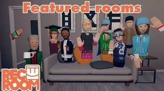 Rec Room - Featured Rooms (Community Builds) - Week of June 16th
