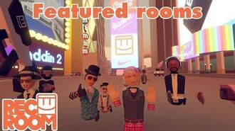 Rec Room - Featured Rooms (Community Builds) - Week of Dec 17th