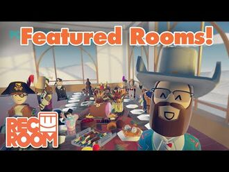 Rec Room - Featured Rooms (Community Builds) - Week of Dec 24th