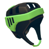 GreenBlackHelmet