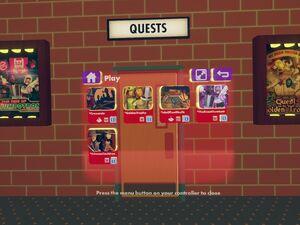 Rec center quests door
