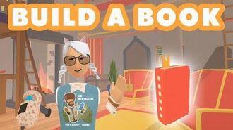 Maker Pen 101 - How to build a book in Rec Room