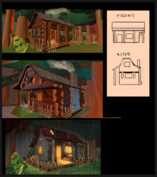 Forest cabin concept