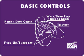 Touch basic controls