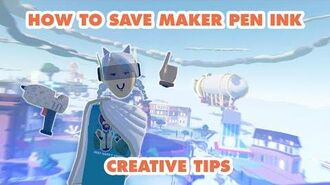How to Rec Room - Saving Maker Pen ink when building your rooms!