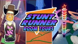 Stunt Runner Room Tours! (Community Builds)