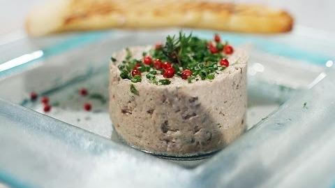 Rilette de Sardinha com Baguete Francesa