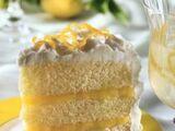 Bolo de Limão com Tripla Camada