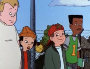 The Recess Gang walking after school