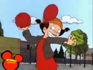 Spinelli gets hit