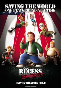Recess School's Out Theatrical Poster