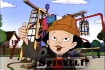 Spinelli giving Miss Grotke thumbs up from a Toon Disney promo