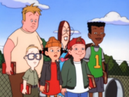 The Gang in Stand Up Randall