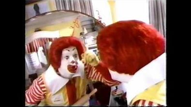 1998 McDonald's Commercial (Ronald's Stray Hair Recess Tie-In)-1562375011