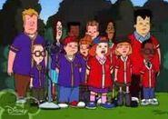 Recess gang & clones
