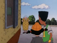 Spinelli and Vince gets caught by Miss Finster