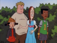 Gretchen with Spinelli, Vince, and Mikey HQ