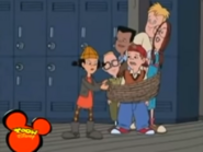 Spinelli saving T.J. and the gang