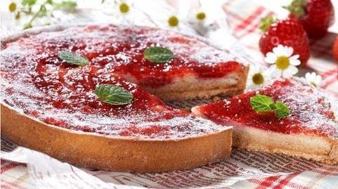 【スイーツレシピ】いちごのタルト The tart of a strawberry