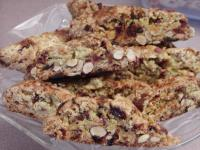 Almond cranberry biscotti