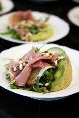 Melon and Prosciutto Salad