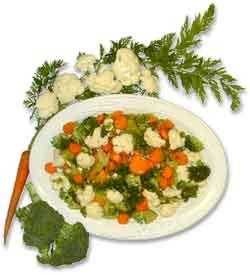 Marinated Broccoli & Carrots