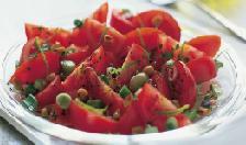 Tomato salad with peanuts