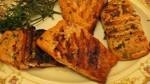 How to Make the Grilled Salmon with Herbs